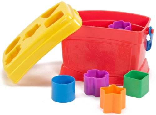 Fisher Price - Bloques Infantiles Con cubo transportable Mattel