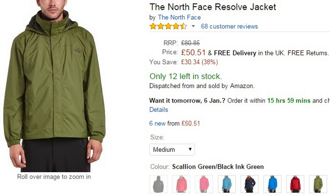 Comprar The North Face oferta